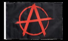 Flagge Anarchy Anarchie rot - 30 x 45 cm