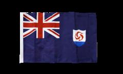 Flagge mit Hohlsaum Anguilla