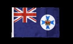 Flagge mit Hohlsaum Australien Queensland
