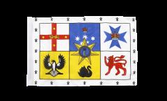 Flagge mit Hohlsaum Australien Royal Standard