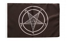 Flagge Baphomet Church of Satan - 30 x 45 cm