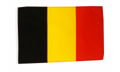 Flagge mit Hohlsaum Belgien