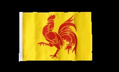 Flagge Belgien Wallonien - 30 x 45 cm