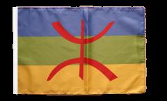 Flagge Berber Amazigh - 30 x 45 cm