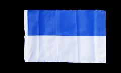 Flagge Blau-Weiß - 30 x 45 cm