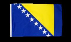 Flagge mit Hohlsaum Bosnien-Herzegowina