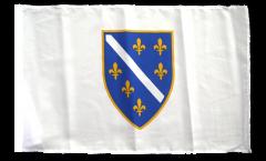 Flagge mit Hohlsaum Bosnien alt 1992-1998