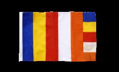 Flagge Buddhismus - 30 x 45 cm