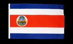 Flagge mit Hohlsaum Costa Rica