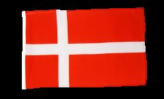 Flagge mit Hohlsaum Dänemark