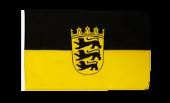 Flagge mit Hohlsaum Deutschland Baden-Württemberg