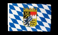 Flagge Deutschland Bayern mit Wappen - 30 x 45 cm