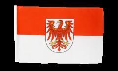 Flagge mit Hohlsaum Deutschland Brandenburg