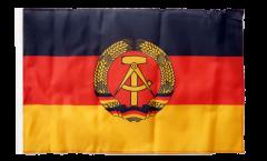 Flagge Deutschland DDR - 30 x 45 cm