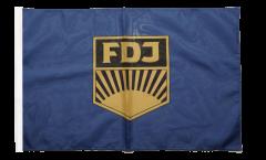 Flagge mit Hohlsaum Deutschland DDR FDJ Freie Deutsche Jugend