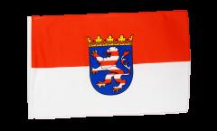 Flagge mit Hohlsaum Deutschland Hessen