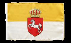 Flagge mit Hohlsaum Deutschland Königreich Hannover 1814-1866