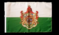 Flagge mit Hohlsaum Deutschland Königreich Sachsen 1806-1918
