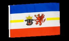Flagge mit Hohlsaum Deutschland Mecklenburg-Vorpommern