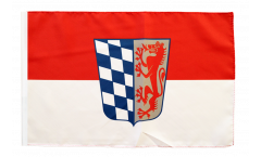 Flagge Deutschland Niederbayern - 30 x 45 cm