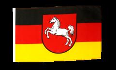 Flagge mit Hohlsaum Deutschland Niedersachsen