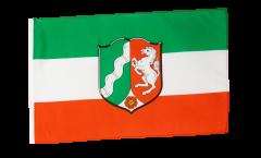 Flagge Deutschland Nordrhein-Westfalen - 30 x 45 cm