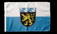 Flagge Deutschland Oberbayern - 30 x 45 cm