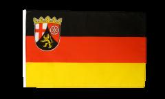 Flagge mit Hohlsaum Deutschland Rheinland-Pfalz