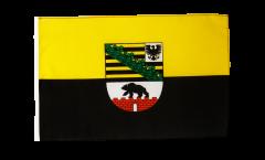 Flagge mit Hohlsaum Deutschland Sachsen-Anhalt