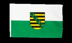 Flagge mit Hohlsaum Deutschland Sachsen