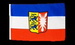 Flagge mit Hohlsaum Deutschland Schleswig-Holstein