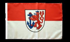 Flagge Deutschland Stadt Düsseldorf - 30 x 45 cm
