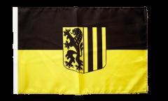 Flagge mit Hohlsaum Deutschland Stadt Dresden