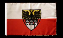 Flagge Deutschland Stadt Duisburg - 30 x 45 cm