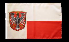 Flagge Deutschland Stadt Frankfurt - 30 x 45 cm