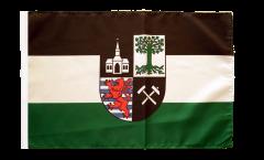 Flagge mit Hohlsaum Deutschland Stadt Gelsenkirchen