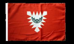 Flagge Deutschland Stadt Kiel - 30 x 45 cm