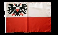 Flagge mit Hohlsaum Deutschland Stadt Lübeck