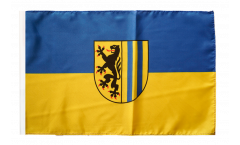 Flagge mit Hohlsaum Deutschland Stadt Leipzig