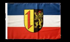 Flagge Deutschland Stadt Mannheim - 30 x 45 cm