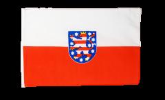 Flagge mit Hohlsaum Deutschland Thüringen