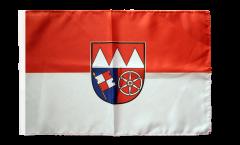 Flagge Deutschland Unterfranken - 30 x 45 cm