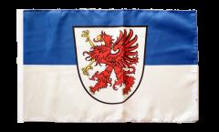 Flagge Deutschland Vorpommern - 30 x 45 cm