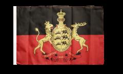 Flagge Deutschland Württemberg 2 - 30 x 45 cm