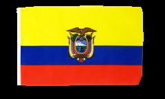 Flagge mit Hohlsaum Ecuador