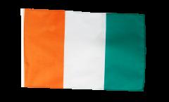 Flagge mit Hohlsaum Elfenbeinküste
