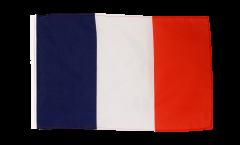 Flagge mit Hohlsaum Frankreich