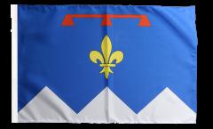 Flagge Frankreich Alpes-de-Haute-Provence - 30 x 45 cm