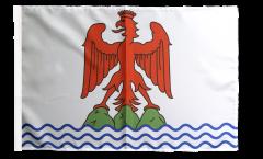 Flagge Frankreich Alpes-Maritimes - 30 x 45 cm