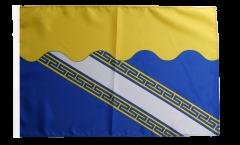 Flagge Frankreich Aube - 30 x 45 cm